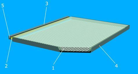 Светопроводящая пластина (СПП) в форме параллелепипеда из прозрачного...  SPECTER.